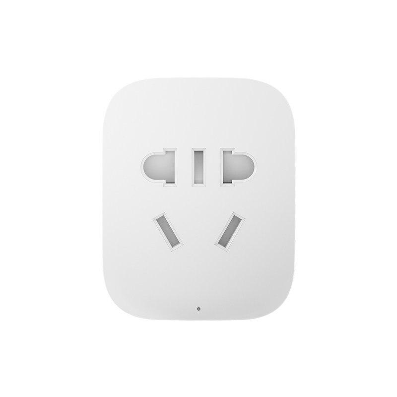 imágenes para 2017 nueva original xiaomi inteligente socket, wifi teléfono xiaomi enchufe inteligente de control remoto inalámbrico