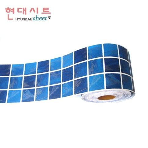 Online Kaufen Großhandel Mosaik Fliesen Blau Aus China Mosaik ... Glasmosaik Bordre Bad