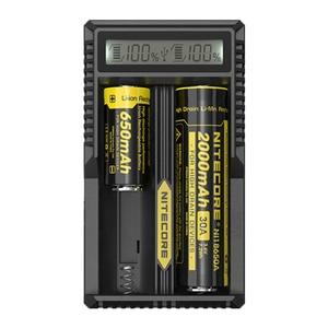 Image 3 - Nitecore cargador de batería inteligente UM20, Original, con pantalla LCD, alimentación USB Universal, batería de ion de litio
