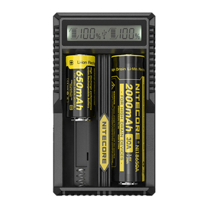 Image 3 - Original New Arrival Nitecore Smart Battery Charger  UM20 Digicharger LCD Display Universal USB Power For Li ion Battery