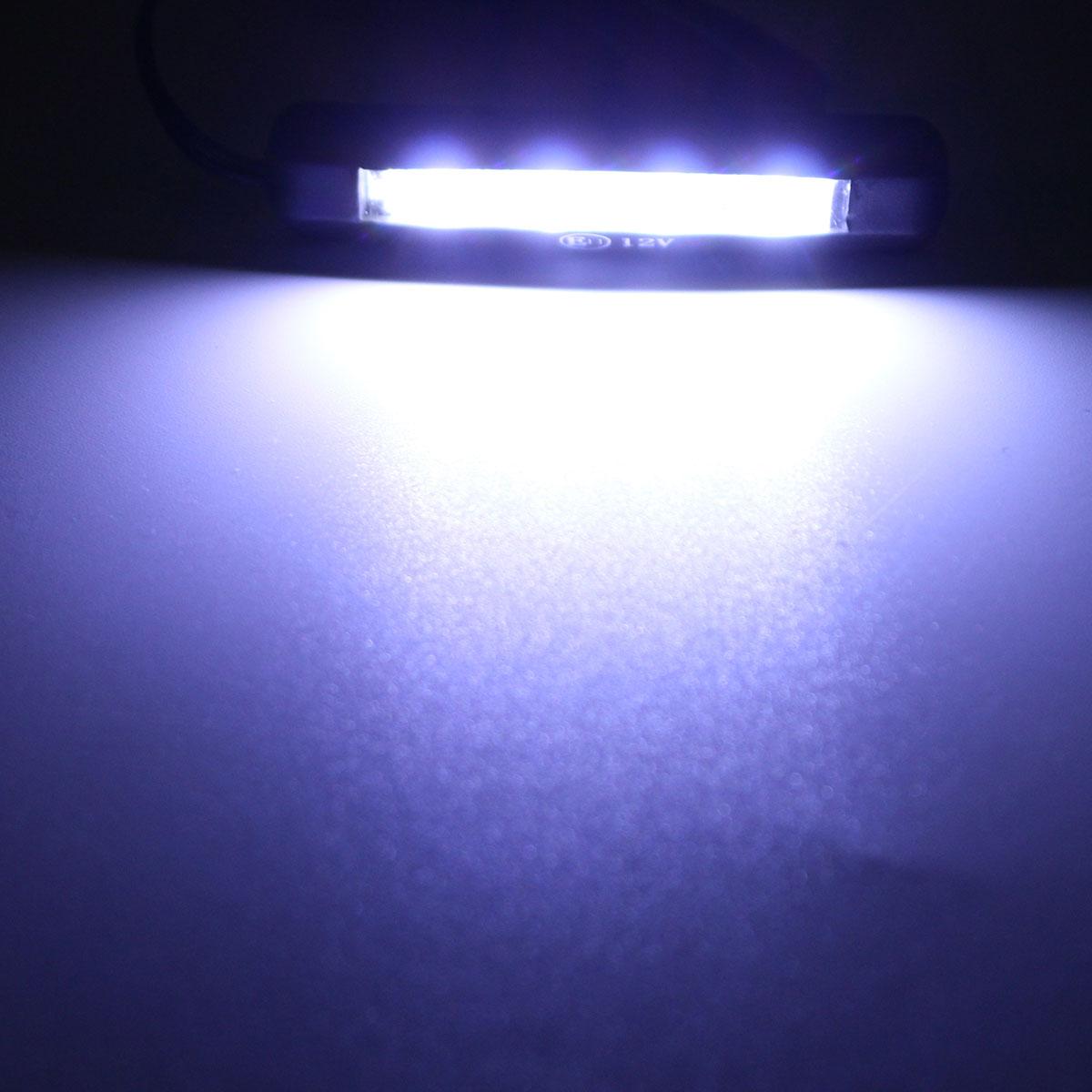 Автомобильный светодиодный фонарь для мотоцикла, задний светильник, 12 В, 4 светодиодный