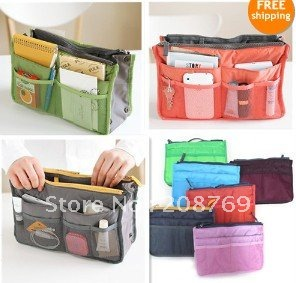 Drop Freeshipping Fashion Women Handbags Bag Organizer Storage Handbag Organize For Ipad In Cosmetic Bags Cases From Luggage On