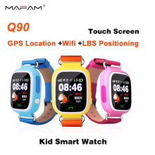 GPS SmartWatch Q90 Bluetooth Smart Watch Children Positioning Anti-Lost Kid Wrist Wifi Watch Locator Touch Screen PK Q50 Q60 Q80