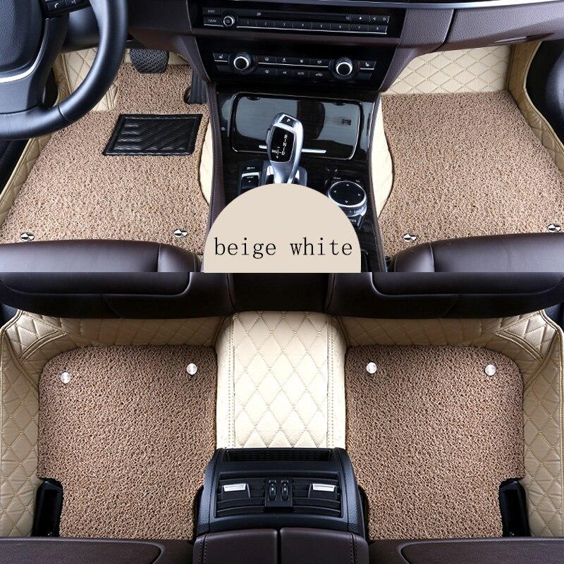 Kalaisike пользовательские автомобильные коврики для Dodge всех моделей atos Мститель отношение durango ram авто аксессуары Тюнинг автомобилей автомоби