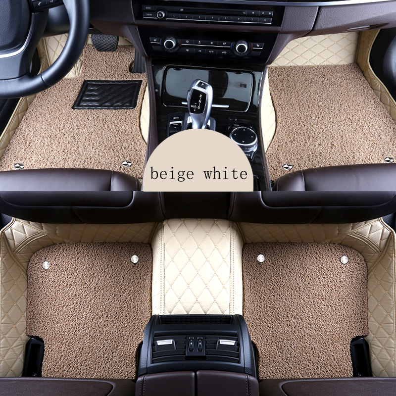 kalaisike Custom car floor mats for Dodge all models atos avenger attitude durango ram auto accessories car styling car mats