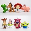 Экшн-фигурка Вуди и Базз из ПВХ, милый фильм «История игрушек 4», брелок для ключей, игрушка для детей, подарок