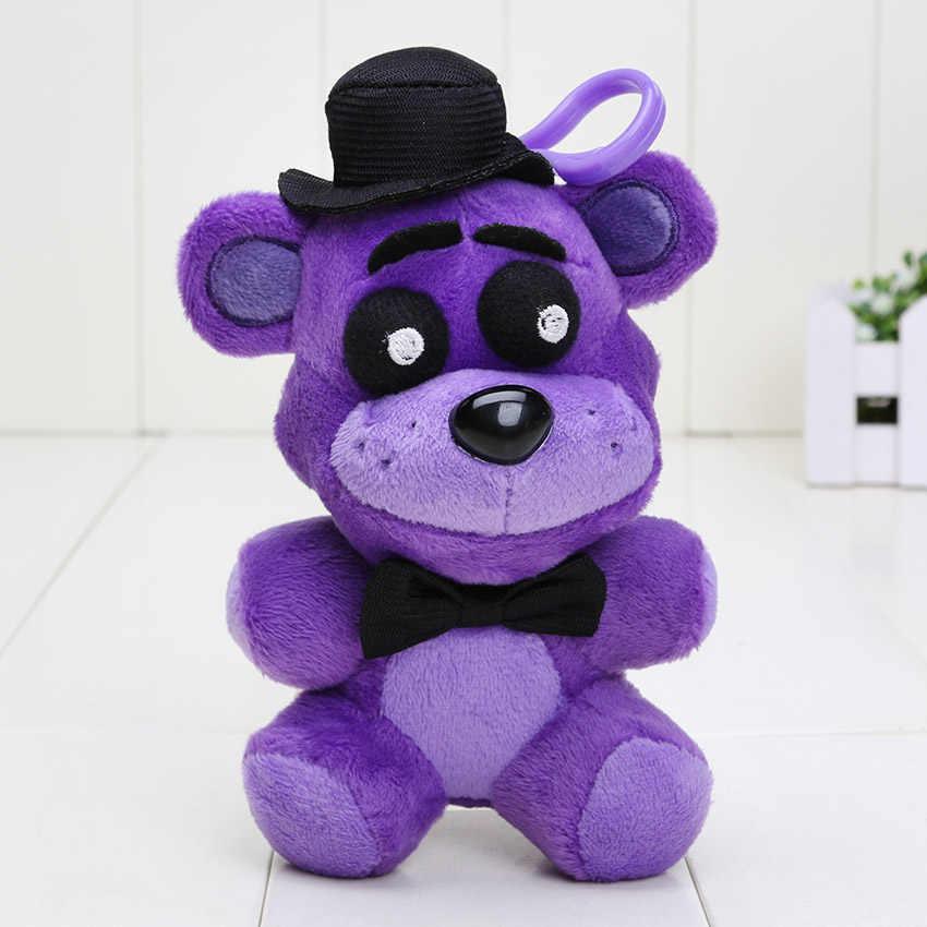 14cm cinco noites no freddy pingente bonecas fnaf freddy urso mangle foxy chica macio recheado chaveiro brinquedo de pelúcia boneca crianças presentes