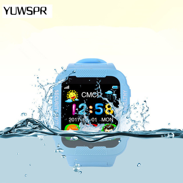 2018 GPS tracker watch for kids camera Waterproof Baby 2.5D Touch screen Bluetoo