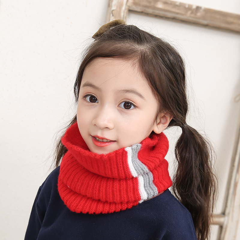 New 2018 Winter Men Women Winter Baby Scarf Boys Girls Childrens Collar Warm O-ring Scarf For Children Neck Warmer Neckerchief Apparel Accessories
