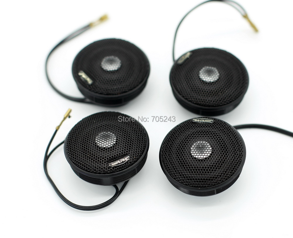 2pair 4pcs melo david alpin HIEND 28MM dôme Neo aimant Vifa XT25 tweeter 4ohm 50W