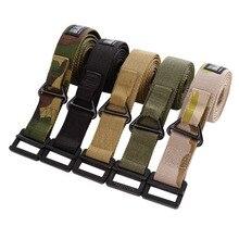 New Military Belt Men Tactical Waist Outdoor Buckle Cinturon Jeans Strap Waistband Girdle Combat Belts