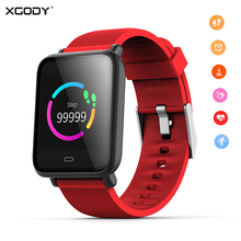 XGODY Q9 Smart Watch Bluetooth Sport Smartwatch Heart Rate Monitor Waterproof Activity Fitness Tracker Men Women for Phone