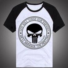 Gros punisher logo chemise
