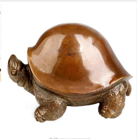 Copper Brass Exquisite Home Decoration Bronze Turtle Decoration Rich Lucky Macrobian Cooper Wealth TortoiseCopper Brass Exquisite Home Decoration Bronze Turtle Decoration Rich Lucky Macrobian Cooper Wealth Tortoise