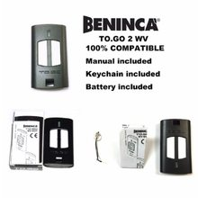 for BENINCA TO.GO2WV garage door remote opener 433,92Mhz rolling code transmitter free shipping(China)