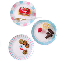 Cake Dishes Western Food Steak Plate Home Creative Sushi Ceramic Tableware Fruit Cake Pan Jelly Series Ceramics Food Containers