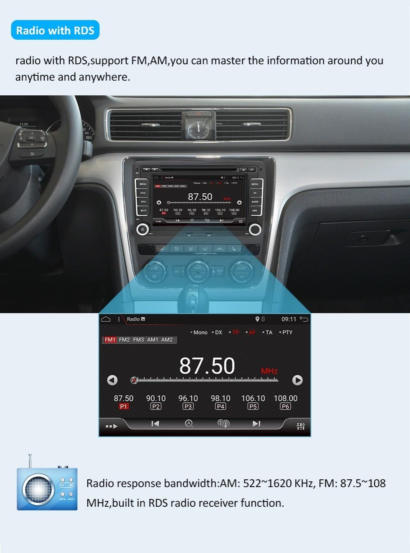 Android ghế TÔ Volkswagen 9