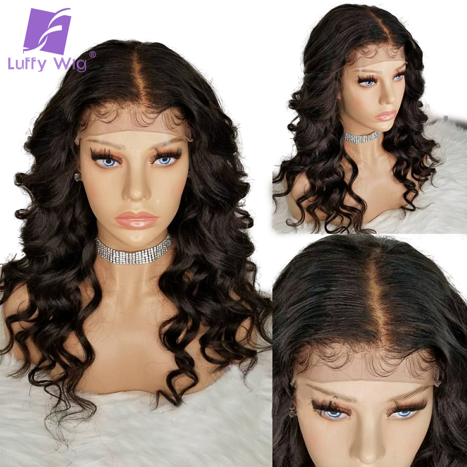 Lace Wigs Inventive 360 Lace Frontal Human Hair Wigs For Black Women 8-24 Body Wave Brazilian Remy Hair Pre Plucked With Baby Hair Fuhsi Hair Hair Extensions & Wigs