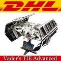 2017 Nueva Lepin 05055 1242 Unids de Star Wars Vader TIE Avanzado luchador Modelo Kit de Construcción de Bloques de Ladrillos de Juguete Para Niños de Regalo 10175