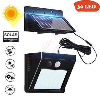 Led lawn Garden Solar Lamp Outdoor 100 LEDs Solar light Motion street Wall+lamps yard garage indoor home spot- lights Chandelier 2
