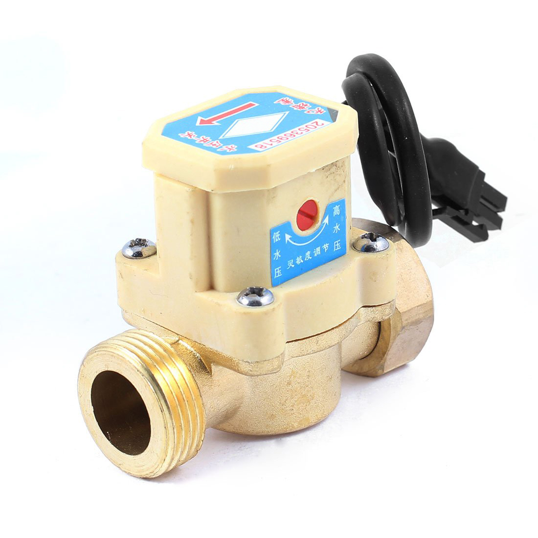 MYLB-26mm 3/4 PT Thread Connector 120W Pump Water Flow Sensor Switch 1 2 pt male thread 90w power electric pressure flow switch for water pump