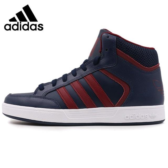 Asli Baru Kedatangan Adidas Originals Varial Mid Pria Skateboard. Sepatu ... be60556729