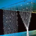 Romantic 1mx2m 220V Shining Gorgeous Pure white LED Christmas Tree Party Window Door Decor Light Curtain