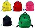 Crianças mochila para o jardim de infância das meninas dos meninos da lona de algodão de alta qualidade polo coleira pequena bolsa de escola mochilas mochilas escolares