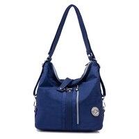 JINQIAOER Large Capacity Women Shoulder Bags Waterproof Nylon Lady Sling Messenger Bag Female Crossbody Bags For