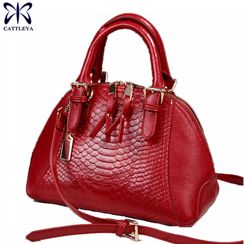 2017 Women Bag Fashion Leather Handbags Serpentine Lady Shoulder Bags  Snakeskin Women Top-handle Bags cb756ad0585c5