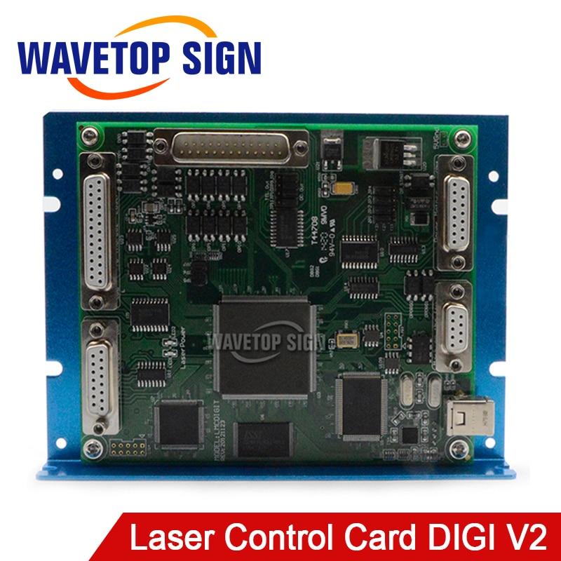 USB Laser Mark Machine Control Card Digial Signal Support 64 Bit System Software Ezcad 2.7.6 Support CO2 YAG UV Laser Module
