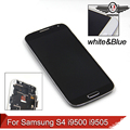 I9500 LCD Display For Samsung Galaxy S4 i9500 i9505 i337 LCD Display Touch Digitizer Screen With Frame Assembly