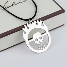 Gang Necklace Skull Suspension Dongsheng with Rope-30 Fury-Road Joe Flame Hot-Mad Max