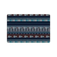Charm Home Ethnic Boho Anti slip Door Mat Home Decor, Trible Art Indoor Outdoor Entrance Doormat Rubber Backing