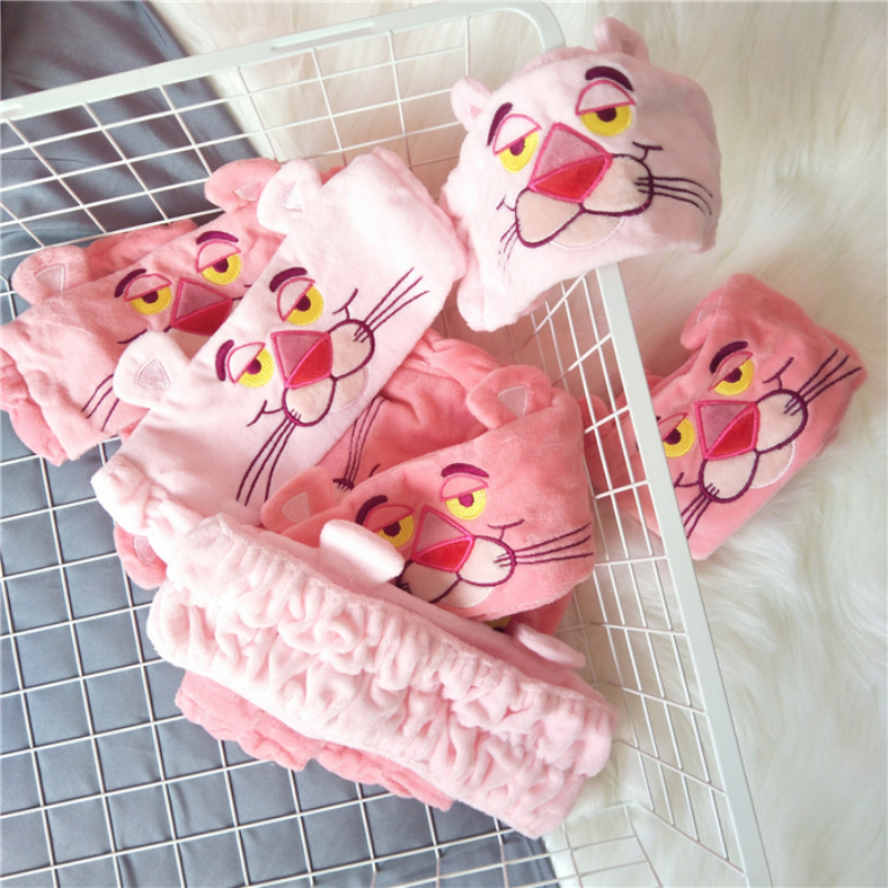 ... Leopard Headband.Bath Shower Cap Hairlace.Cartoon Animals Wash Face  Sports Makeup Beauty Hairbands.Hair Accessories-in Shower Caps from Home   Garden  on ... e877c83cb900
