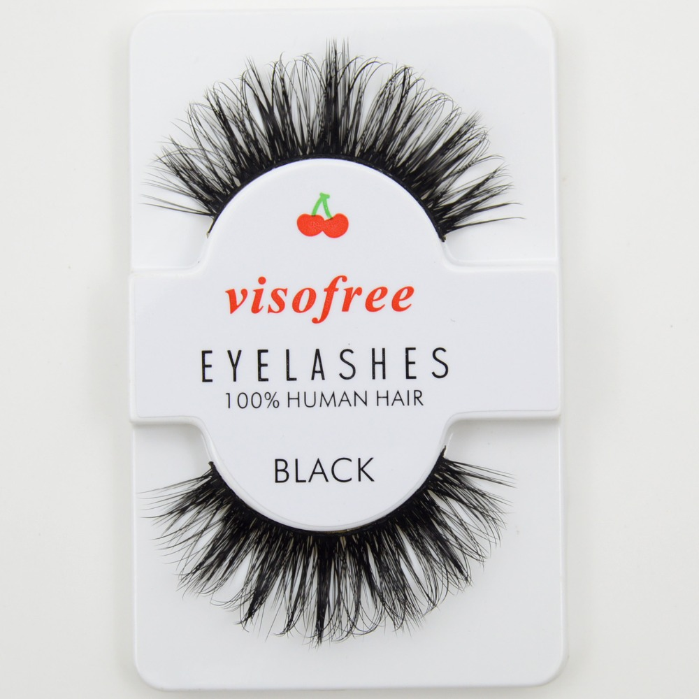 Beauty & Health Visofree Eyelashes 3d Mink Lashes High Volume Handmade Mink False Eyelashes Thick Full Strip Lashes Cruelty Free Cilios Posticos Carefully Selected Materials