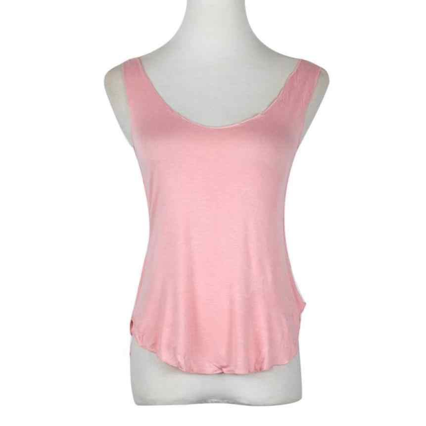 7da95c94dac ... Fashion Crop Top female 2017 Summer Woman Lady Sleeveless V-Neck Candy Vest  Loose Tank ...