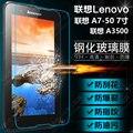 9 H Для Для Lenovo A7-50 A3500 A7 50 7 дюймов Tablet PC Закаленное Стекло-Экран Протектор Защитная Пленка