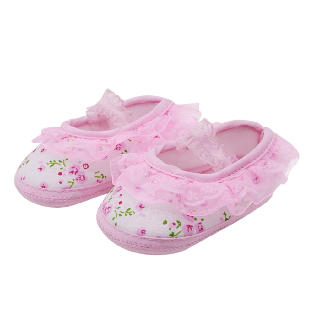 Baby Boys Girls shoes PU Leather Cute Cotton Anti-skip Sole Baby First Walkers Shoes Suit for 0-18M