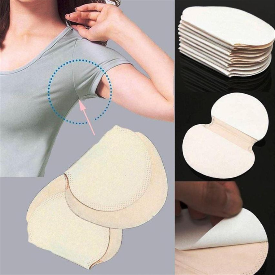 New Sweat Pad 10/16/20PC Underarm Adhesive Sweat Pad Armpit Goodbye Antiperspirant Deodorant High Quality 15