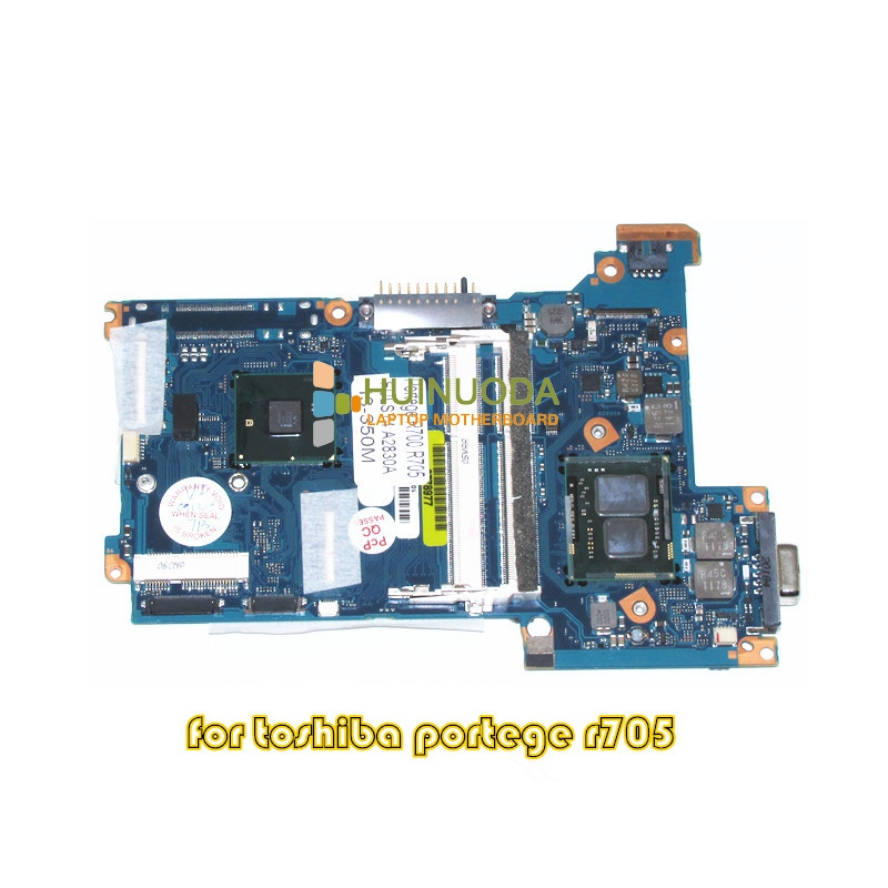 FULSY4 A2830A For Portege R700 R705 laptop motherboard HM55 DDR3 I3-350M CPU onboard