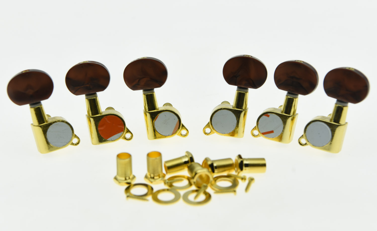 KAISH Gold w/ Pearl Buttons Guitar Tuners Tuning Keys for Acoustic Electric Guitars дезодорант аэрозоль fa men xtreme invisible