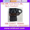 Novo Distribuidor sensor de Pressão Absoluta MAP Sensor uso OE No. 2246977 5850801 93171579 13622246977 para BMW Land Rover MG Opel Vauxhall