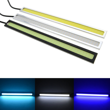 Car Styling 2 Pcs Ultra Bright LED Daytime Running lights 17cm Waterproof Auto Car DRL COB Driving Fog lamp for bmw kia