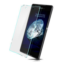 9h Tempered Glass Screen For Sony For Xperia Z2 Z1 Z3 Compact Mini Z4 C3 E3 E4 M2 M4 Aqua Ultra T3 Film Protector Case(China)