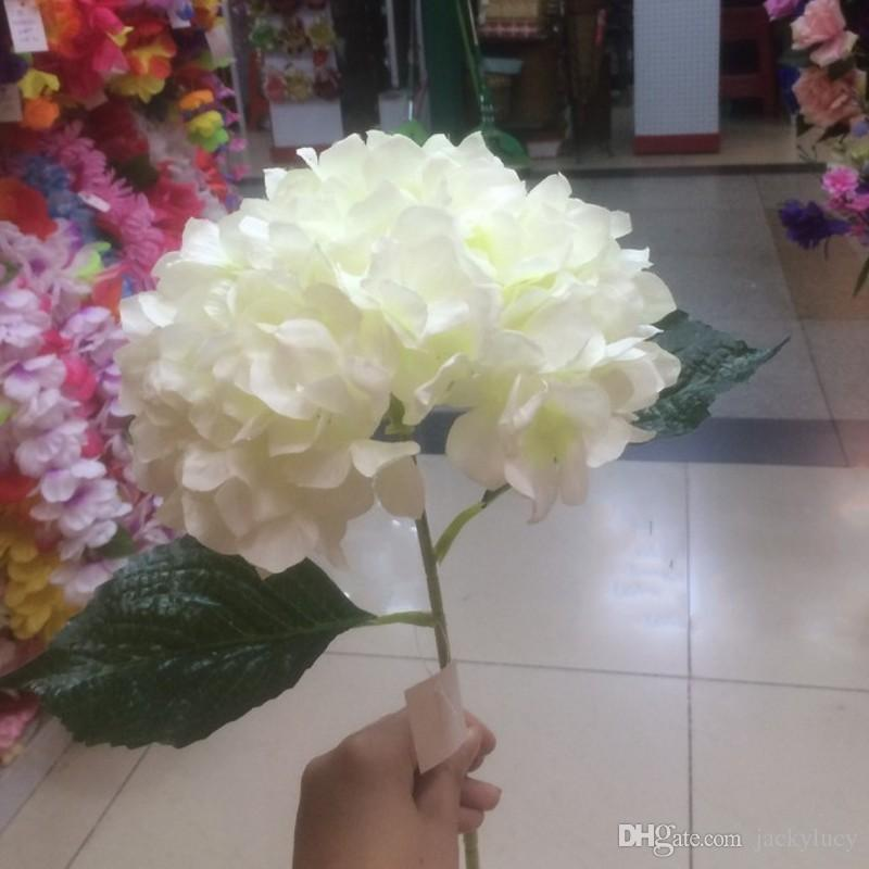 Europski pastoralni stil bijeli umjetni svila cvijet tkanina - Za blagdane i zabave - Foto 2