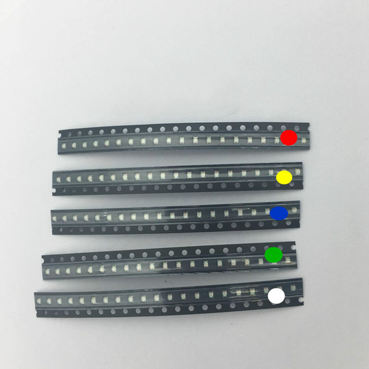 SMD 0603 0805 1206 1210 LED Diode Assortment SMD LED Diodes Diy Kit 5050 5730 LEDs For TV Backlight Red Green Blue Yellow White