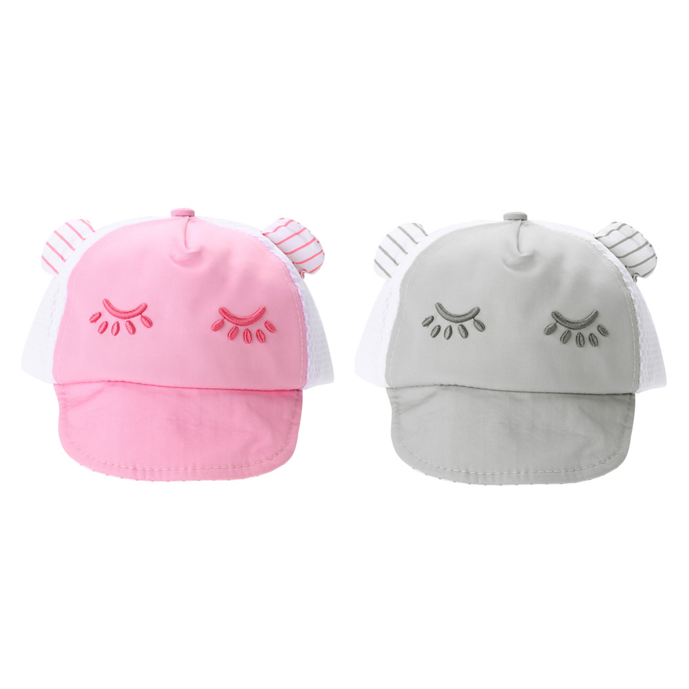 ▻Bebé sombrero para niños niño niña gorra de béisbol Ojos estilo ...