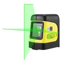 Firecore F112G 2 Líneas Autonivelante Nivel Láser Verde (4 grados) Horizontal y Vertical de La Cruz-Line Mini láser