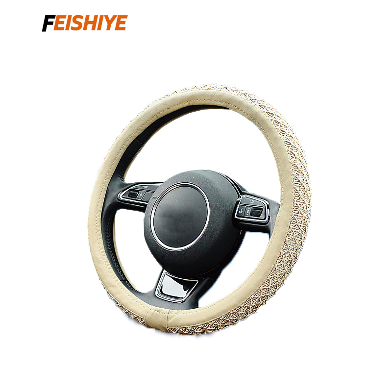 FEISHIYE Faux Leather Wheel Cover Four Seasons General Steering Cover Steering Wheels & Steering Wheel Hubs Feel Comfortable CCC